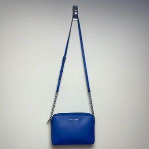 Michael Kors Blue Chain Crossbody Bag
